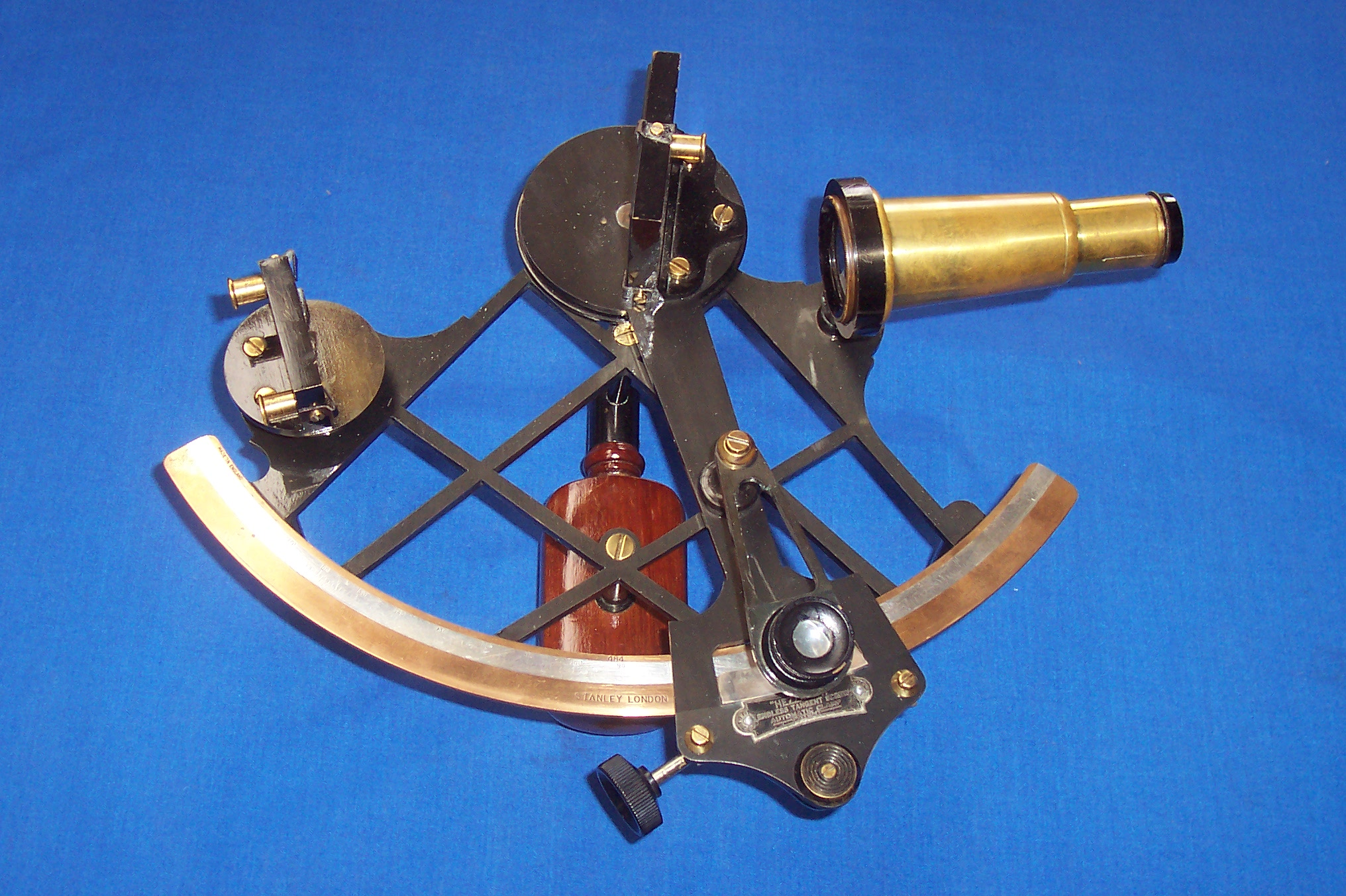 marine navigational equipment the sextant A sextant is a marine navigation instrument which is used to measure the angle between two objects sextant is still used on many ships around the world.