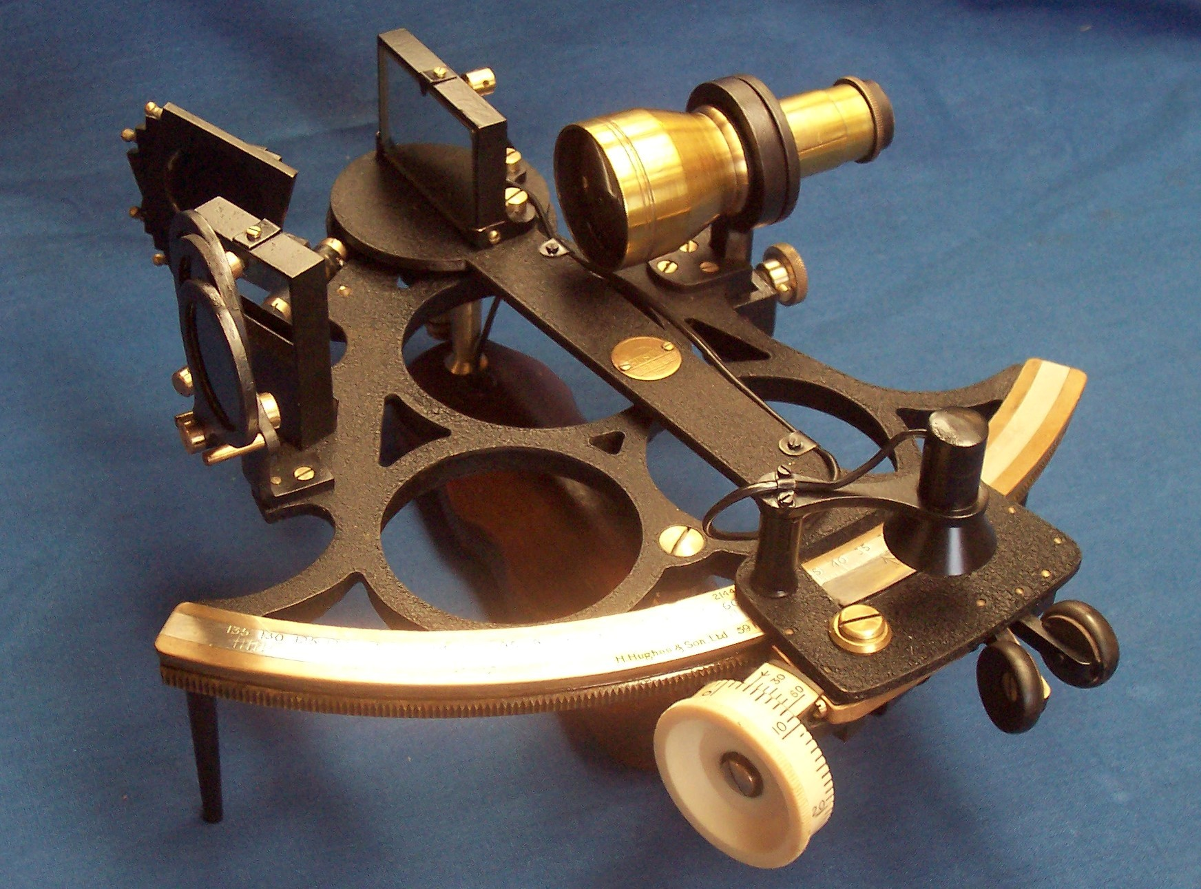 how to work a sextant