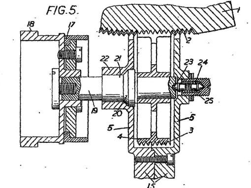 Figure 3: Large cylindrical worm