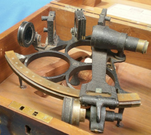 Figure 6: Sextant as received