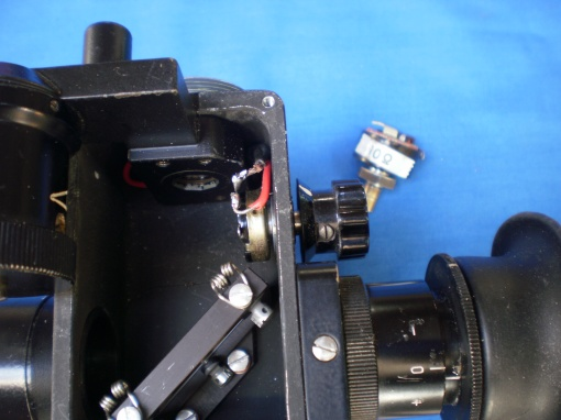 Figure 3: Replacement rheostat in place.