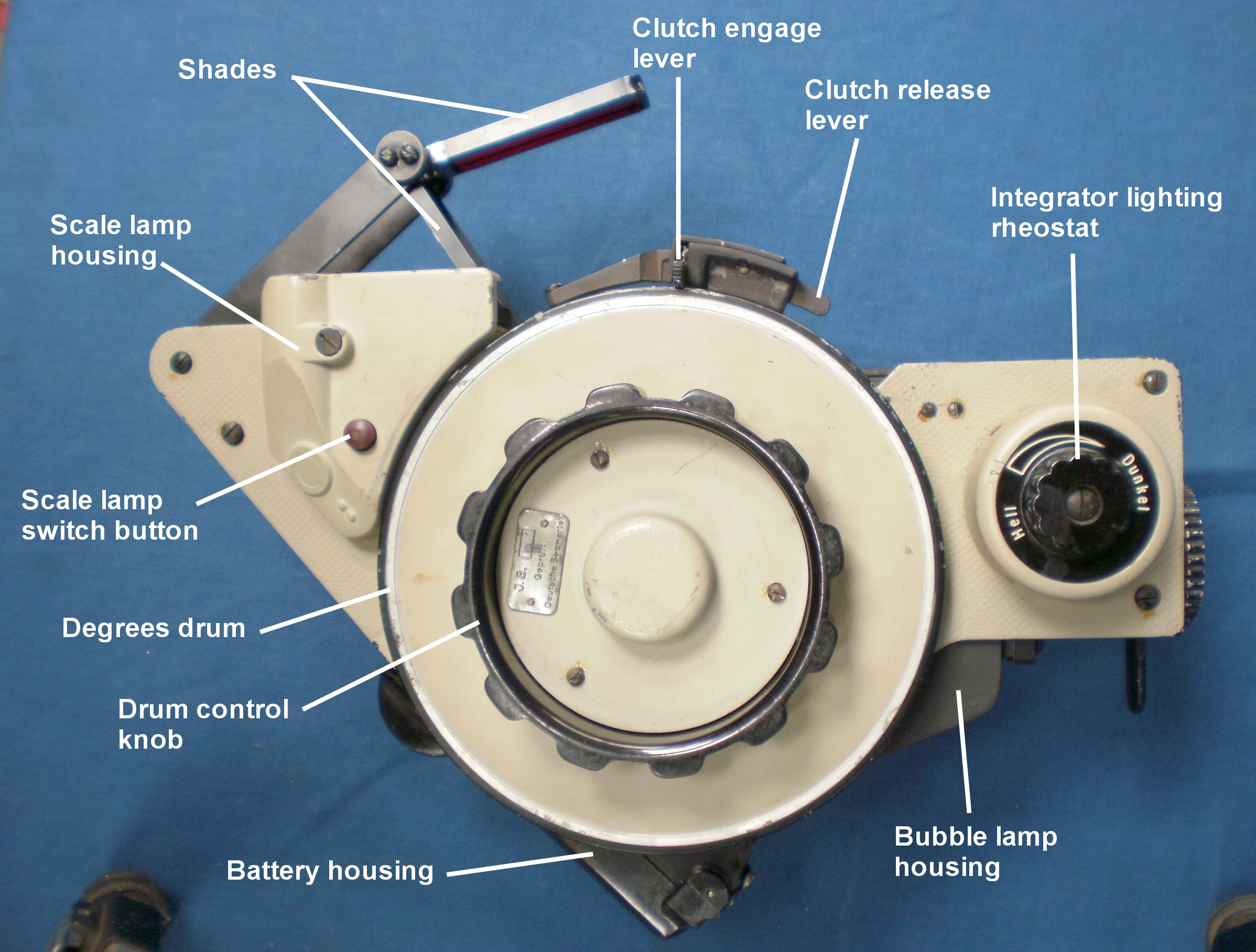 Figure 3: General arrangement, right side.