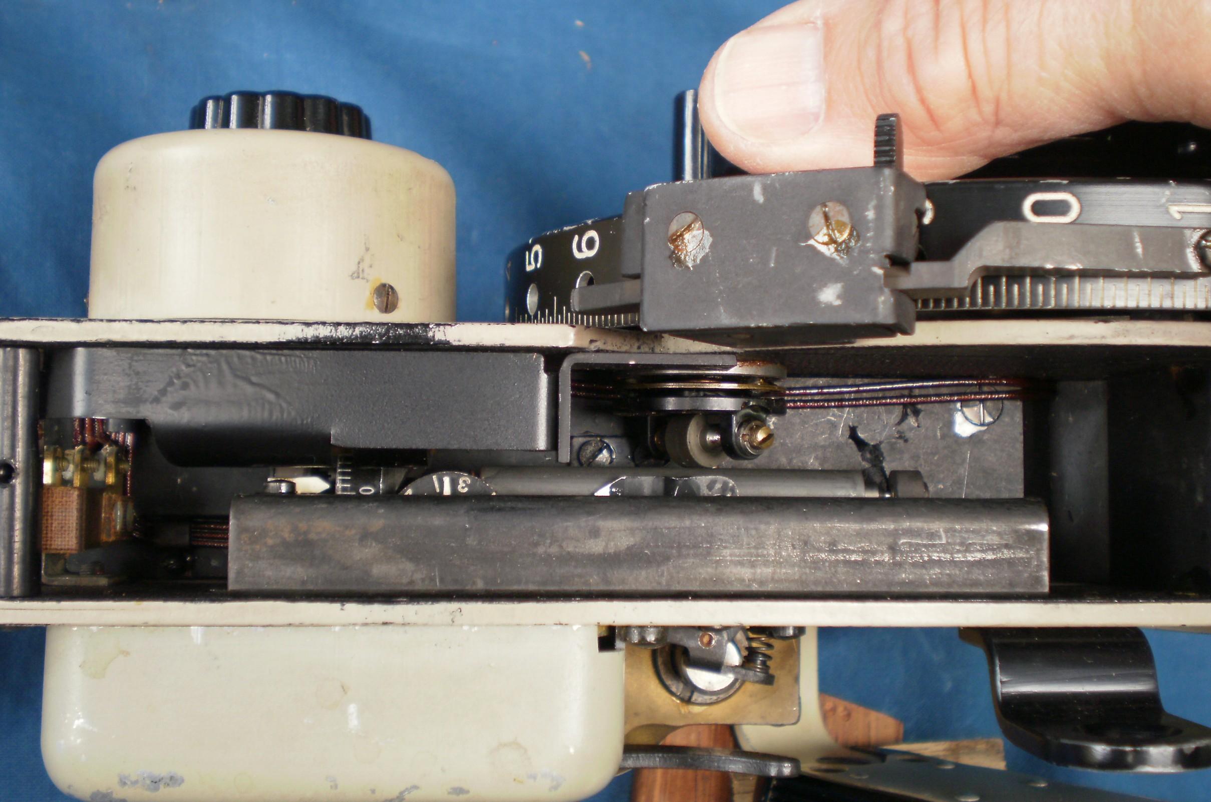 Figure 11: Integrator in operation.