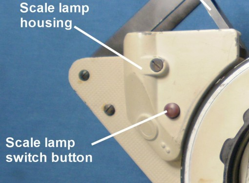 Figure 17: Scales lamp housing.