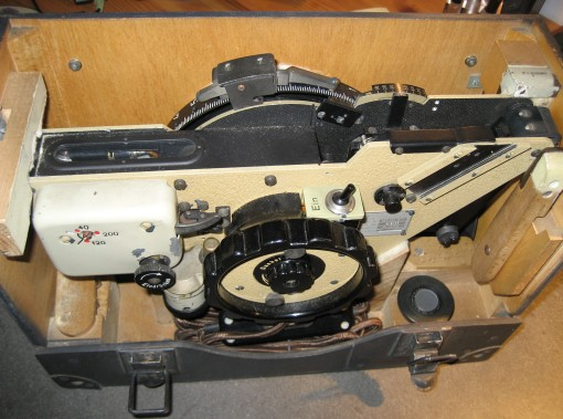 Figure A2: Luftwaffe instrument in case.