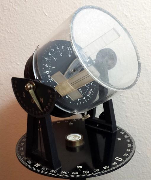 Figure 1: Dan LaPorte's sun compass.