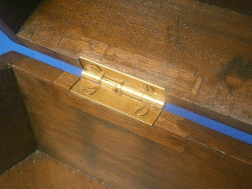 Figure 13: Case repair in vicinity of hinges.