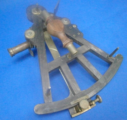 Figure 2 Rear face of octant as received.