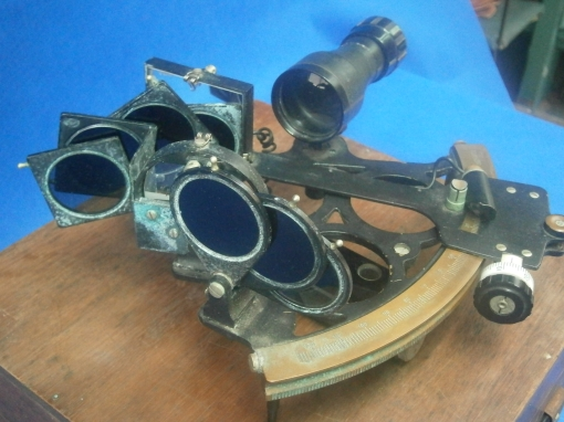 Figure 1: Sextant as received.
