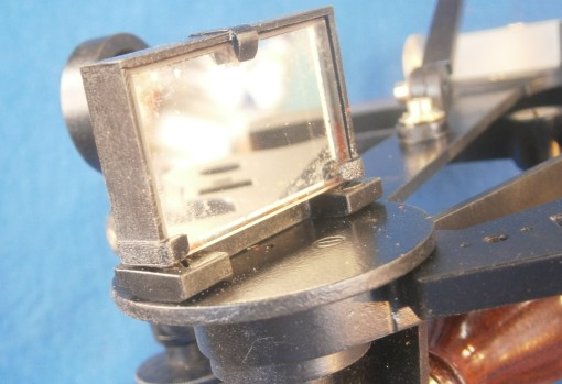 Figure 3: Front of index mirror clamp.