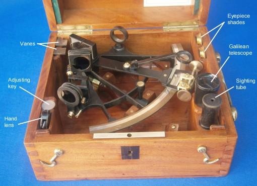 Figure 17: Restored instrument in its case.