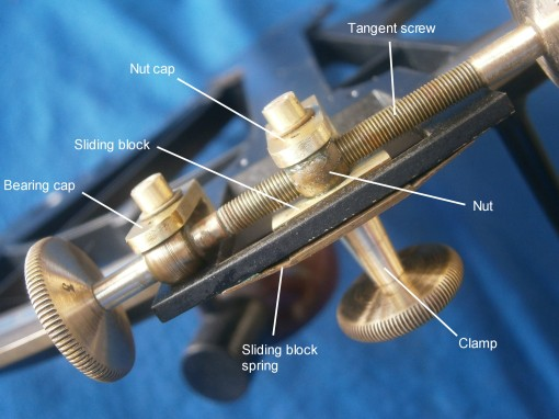 Figure 11: General view of tangent screw mechanism.